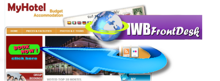 Booking Engines integrate with IWBFrontDesk